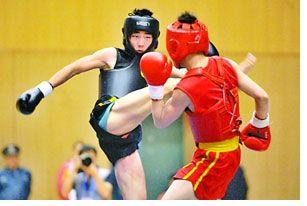 全国青少年武术散打赛