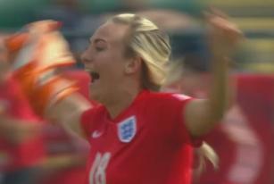 女足世界杯 英格兰队获得季军