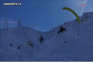 雪上滑还不够畅爽,飞上天怎么样
